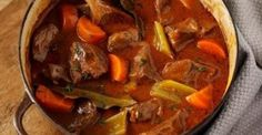 Beef vegetable casserole A traditional braised beef stew with thick rich gravy an ideal recipe for cheap cuts as slowcooking guarantees a tender dish Slow Cooker Beef, Slow Cooker Recipes, Beef Recipes, Cooking Recipes, Healthy Recipes, Recipies, Lamb Casserole Slow Cooker, Slow Cook Beef Stew, Beef Casserole Recipes