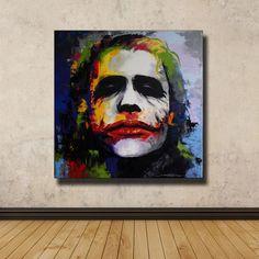 Colorful Joker Painting - 67cm(H) × 67 cm(W)