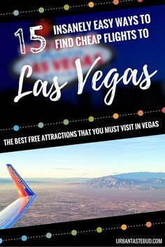 How to Find Cheap Flights to Las Veas