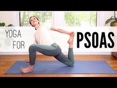 Yoga poses offer numerous benefits to anyone who performs them. There are basic yoga poses and more advanced yoga poses. Here are four advanced yoga poses to get you moving. Yin Yoga, Yoga Meditation, Yoga Flow, Yoga Sequences, Yoga Poses, Psoas Stretch, Psoas Release, Yoga With Adriene, Crossfit Motivation