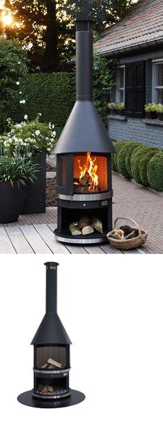 Garpa Garden fireplace