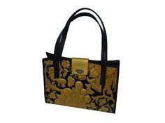 Goudleer tas van goudleer Atelier van Soest