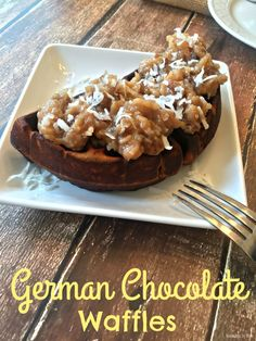 German Chocolate Waf