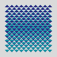 Cutting Corners I (2015) - Dennis Smit. More on http://www.schmitzl.nl. #opart #optical #opticalart #geometric #geometricart #abstract #abstractart