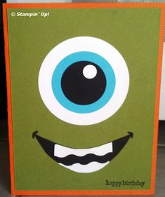 Monster Punch Art Card from Flowerbug's Inkspot