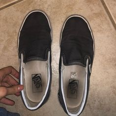03310257ec9afb Shop Women s Vans Gray White size Sneakers at a discounted price at  Poshmark.