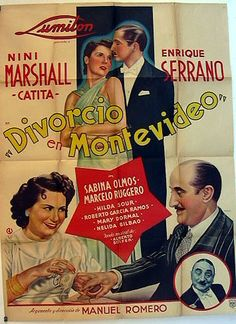 1939 - DIVORCIO EN MONTEVIDEO - Manuel Romero