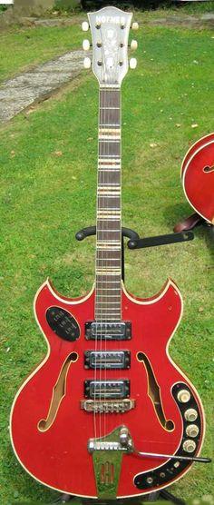 Marc Moris' Hofner Semi Acoustic Guitar