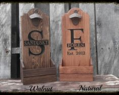 Personalized Beer Tote Wooden Beer Carrier Home by MVwoodworks