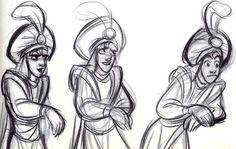 Aladdin - Disney - Concept Art