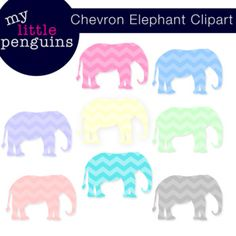 This download includes 8 Chevron Elephant Clipart (300 ppi resolution).Clip art and graphics may be used for personal or commercial use.You may not resell graphics alone, they must be incorporated into an original design or resource.Please make sure all files are secured in a PDF so that clip art cannot be copied.Please proved my button in your credits and link it up to my TpT store!Let me know if you have any questions!Don't forget to make your clipart pop add a shadow!