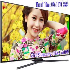 Smart Tivi Samsung 60KU6000 với thiết kế đẹp mắt, cùng công nghệ hình ảnh ấn tượng mang tới vẻ đẹp hoàn hảo phòng khách gia…
