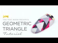 Geometric Triangle Nail Art - www.NEIRU.me Japanese Nail Art Tutorial [HD] - YouTube