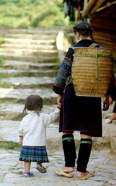 Baby Steps - Sapa, Vietnam