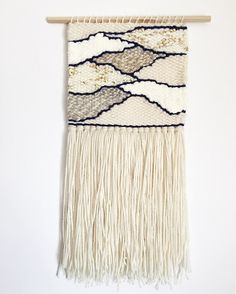 weaving woven wall hanging neutral wall hanging wall