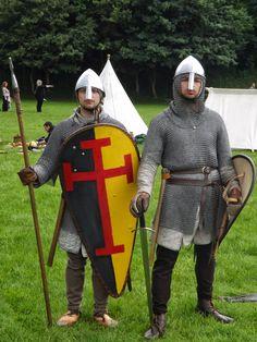 12th century Norman knights