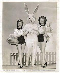 vintage bunny costume