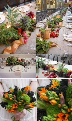 flowers and decorations for an irish wedding | ... Brandt Photography via The Wedding Chicks | 5. Green Wedding Shoes