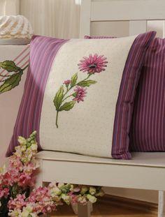 Kissen für den Gartenstuhl ... Design : Gerlinde Gebert