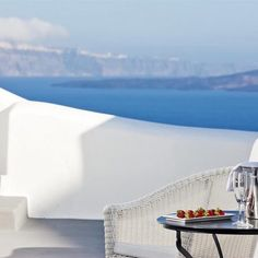 Relax with the amazing views at the Canaves Oia Hotel