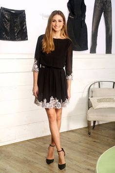 Check out how Guest Editor Olivia Palermo styled our Ted Baker Feay dress, AND get 25% off dresses through 11/12!