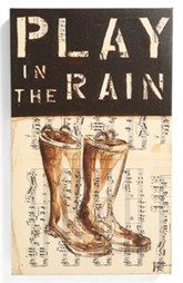 Third and Wall Art 'Play in the Rain' Sign - Nordstrom