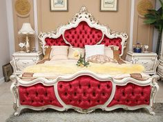 red bedroom set - Google Search