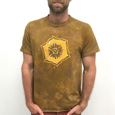 Men's XL #buddhist design #handmade batik. In some smaller sizes too! Love these colors...
