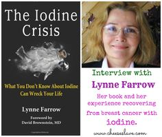 """Interview Lynne Farrow, author of """"The Iodine Crisis"""" Part 1 Adrenal Health, Adrenal Fatigue, Thyroid Issues, Thyroid Disease, Health And Nutrition, Health And Wellness, Iodine Supplement, Medical Information, Cancer Cure"""
