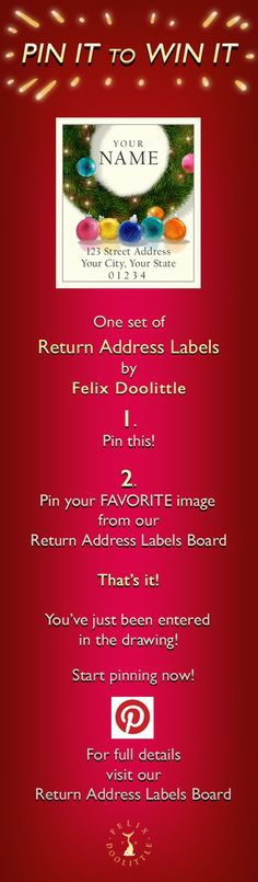 Felix Doolittle is having a contest for pin it to win it. Pin It to Win It Contest Rules! We will announce the winner on December 18th by commenting on the WINNING PIN and announcing the winner on our Facebook: www.facebook.com/... and our blog: fdsketches.com/ ....Happy Pinning!