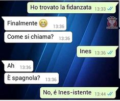 SMS DIVERTENTI SU WHATSAPP - pagina 7 - SMS- DI TUTTI I TIPI Trippy Alien, Funny Images, Funny Pictures, Electronic Media, Funny Messages, Funny Moments, Haikyuu, Laughter, Comedy