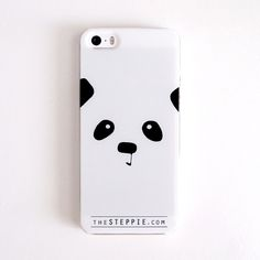 """""""Panda Face"""" Cell Phone Case (4/4S, 5/5S, 5C, S4) / Steppie Clothing"""
