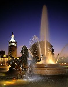 Children's Fountain, North Kansas City, Missouri, USA | Fountains ...