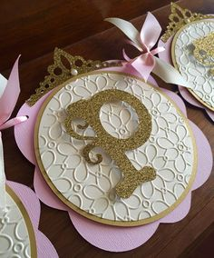 Princess Baby Shower/ Princess Birthday/ First Birthday/ Baby/ Its a girl/ Princess party/ Pink and gold/ Centerpieces/ Baby girl shower Princess Theme Birthday, Princess Party, 1st Birthday Parties, Girl Birthday, Birthday Nails, Deco Baby Shower, Cinderella Party, Baby Shower Princess, Party Banners
