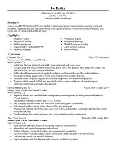 Hvac Resume Template Associate Professor Resume Example  For Work  Pinterest  Resume