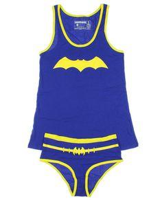 Underoos DC Comics Batgirl Girls Underwear Set