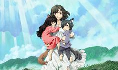 FUNimation Adds New 'Wolf Children' Anime Trailer