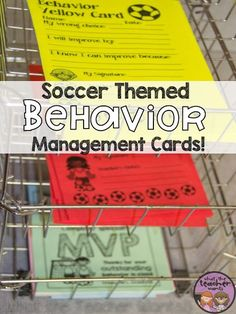 For Management Monday today I thought I'd share about the behavior management system  I used in my classroom for the past 3 years. I ...
