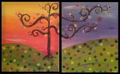 The perfect date night! Join us for this fabulous couples painting on September 19th at 7pm!