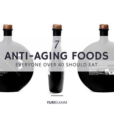 7 Anti-Aging Foods Everyone Over 40 Should Eat -- The fountain of youth really does reside in your kitchen. Stock up on these 7 anti-aging foods to drastically improve your quality of life. Anti Aging Tips, Best Anti Aging, Anti Aging Cream, Anti Aging Skin Care, Natural Skin Care, Natural Beauty, Natural Cures, Younger Skin, Healthy Aging
