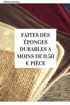 Make your own durable sponges for your kitchen and bathroom - Here you will find the pattern of the sponge printing without adjustment). The pattern alread - Make Your Own, Make It Yourself, How To Make, Beauty Hacks Eyeliner, Creation Couture, Cheap Gifts, Hacks Diy, Impression, Bio