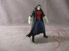 Animated Morbius v3 (Marvel Universe) Custom Action Figure