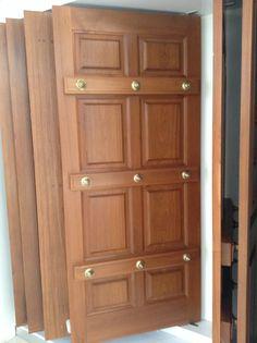 Single Door Design, Home Door Design, Wooden Front Door Design, Pooja Room Door Design, Wood Front Doors, Door Design Interior, Window Design, House Design, Modern Wooden Doors