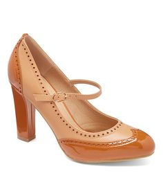 Take a look at this Camel & Nude Betsy Pump today!