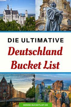 -Anzeige- Urlaub in Deutschland ist langweilig? Im Gegenteil! Deutschland als Reiseland hat so einiges zu bieten. Sehenswürdigkeiten & Tipps für jedes Bundesland. Reisen In Europa, Places To Go, Beautiful Places, Road Trip, Camping, Travel, Inspiration, Food, Vacation Travel