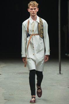Dries Van Noten - Spring 2015 Menswear - Look 4 of 52