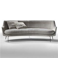 Flexform Guscio Sofa - Flexform Sofa - Modern Sofas - Flexform Furniture   SwitchModern.com