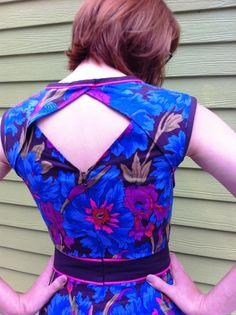 Deer  doe Belladonna dress Back Detail is gorgeous  it's got pockets!