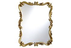 Armond Wall Mirror, Gold