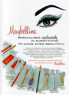 Retro maybelline advert
